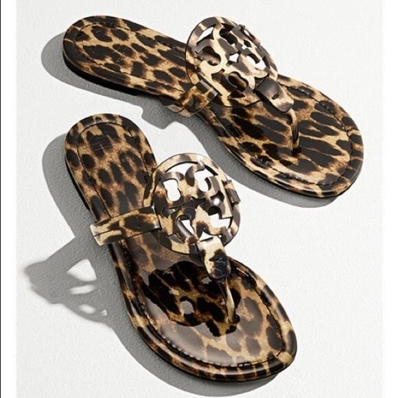 miller leopard sandals